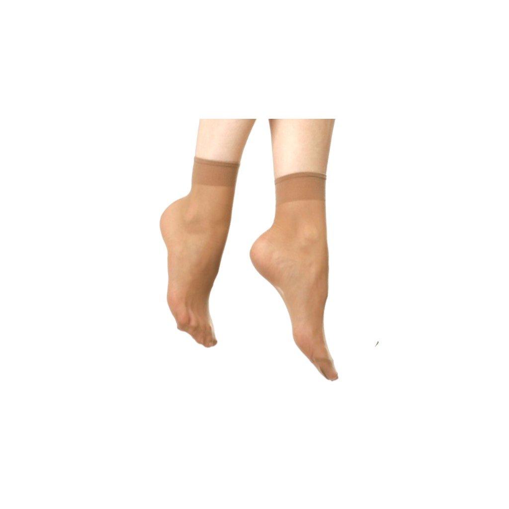 Obyčejné silonové ponožky